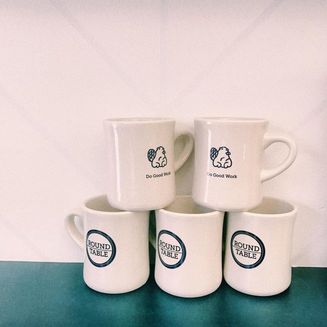 Roundtable Coffee Works Coffee Mugs