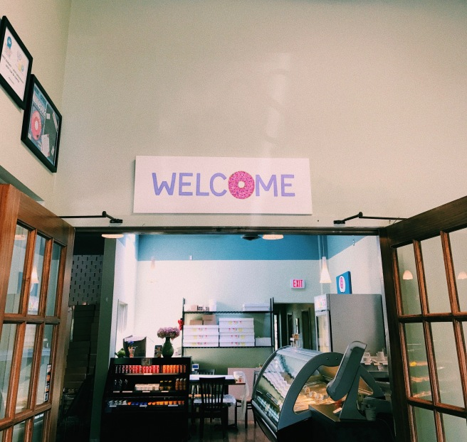 Coffee Shop Entrance- Welcome