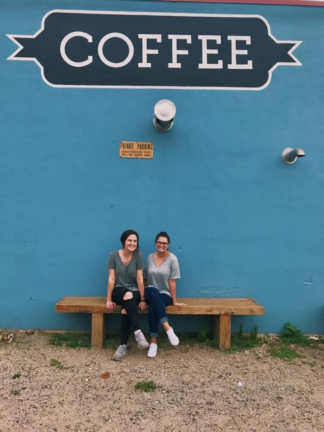 Coffee Shop Wall Friends