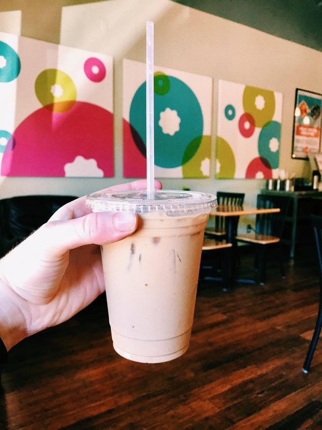 Coffee Drink-Iced White Chocolate Mocha