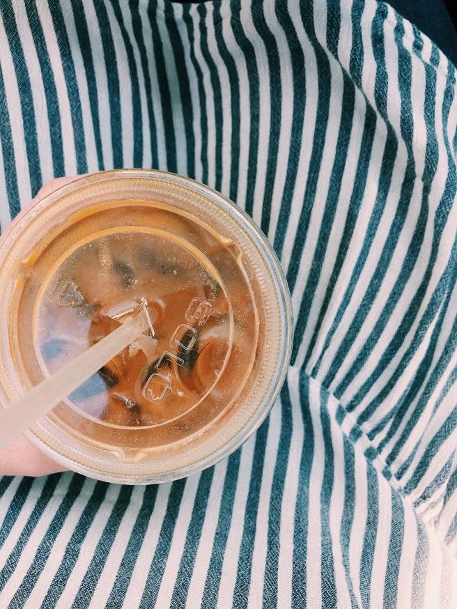 Iced Coffee Americano Drink