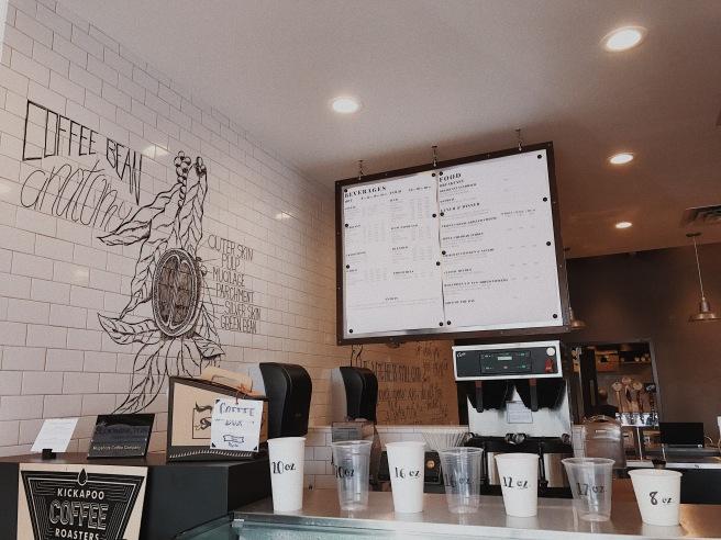 Menu Coffee Shop Interior Trendy