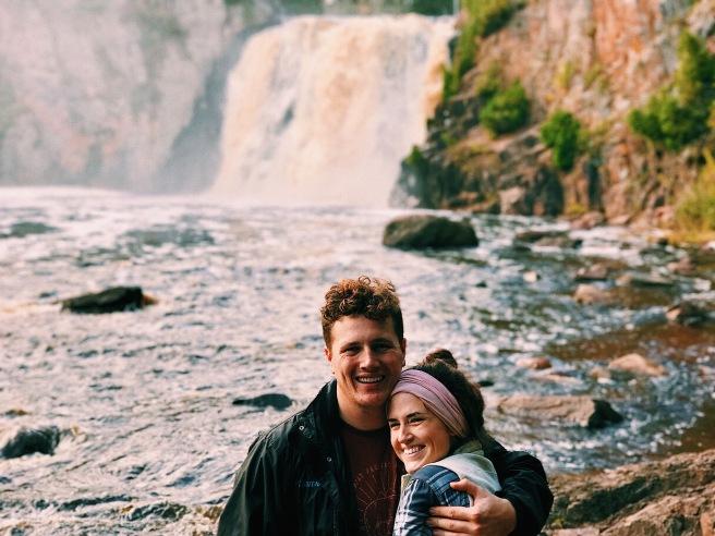 Fall Adventure North Shore Minnesota Couple Adventure