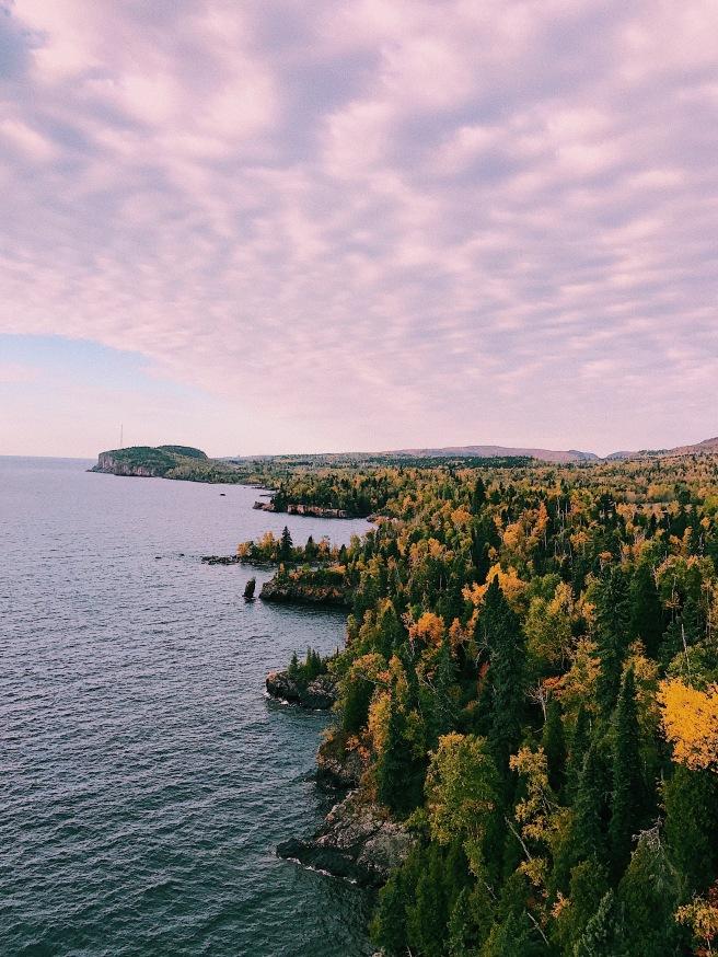 Fall Views Adventure Hiking Autumn Leaves Trees Lake Superior North Shore Minnesota