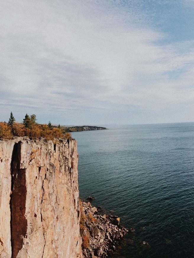 North Shore Minnesota Palisade Head Fall Colors Autumn Adventure