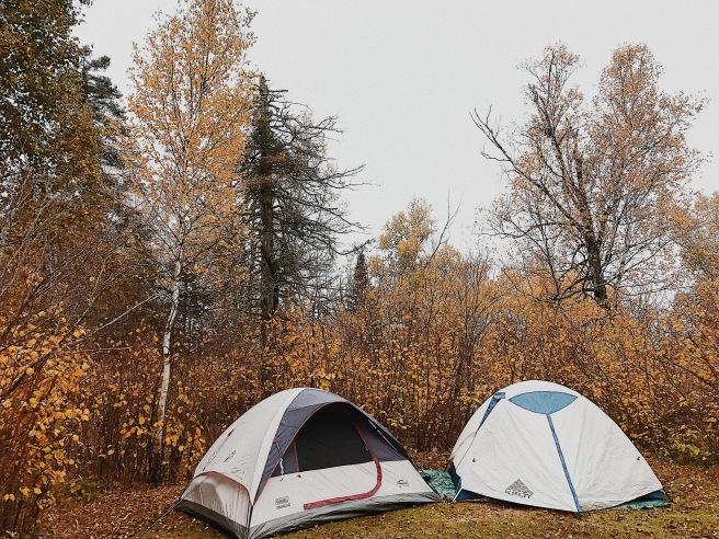 Camping Tents Northern Minnesota North Shore