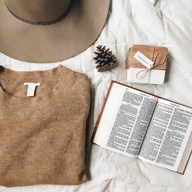 Flat Lay Bible Sweater