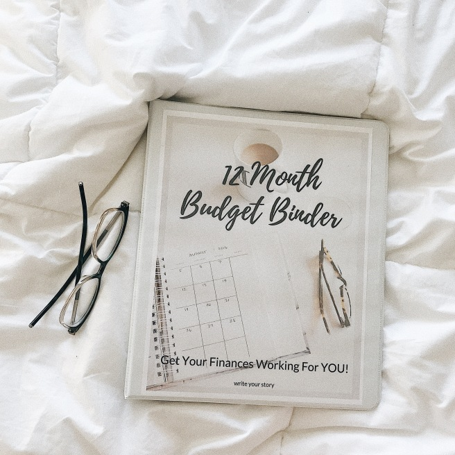 budget binder finances budgeting