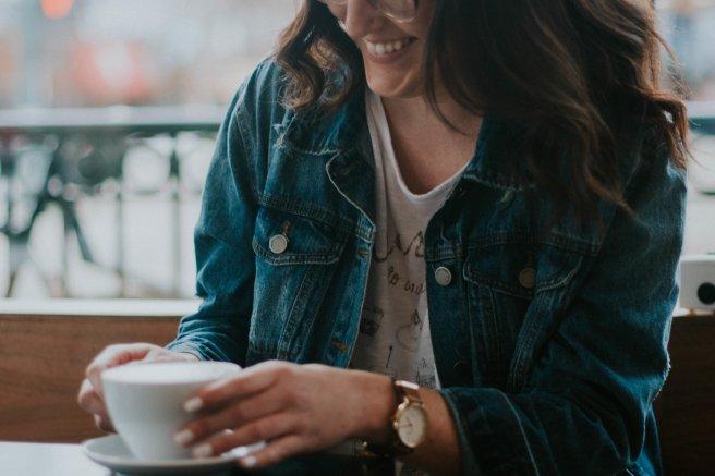 coffee girl coffee photo